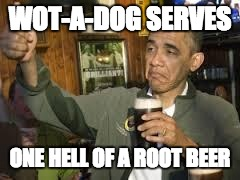 wad obama root beer